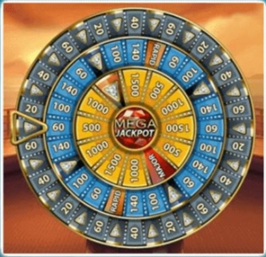 Mega Fortune Dreams Bonus Wheel
