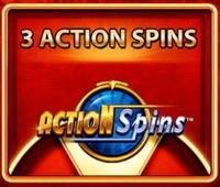 Silver Stallion Action Spins