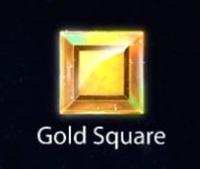 Tetris Extreme Gold Square