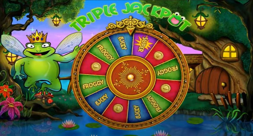 Super Lucky Frog Wheel